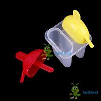 замечательно! antdeal 2 ячейки diy льда эскимо плесень чайник мороженого замороженные плесени Кубок блок ледяной полюс установить сохранить до 50% новых fashional
