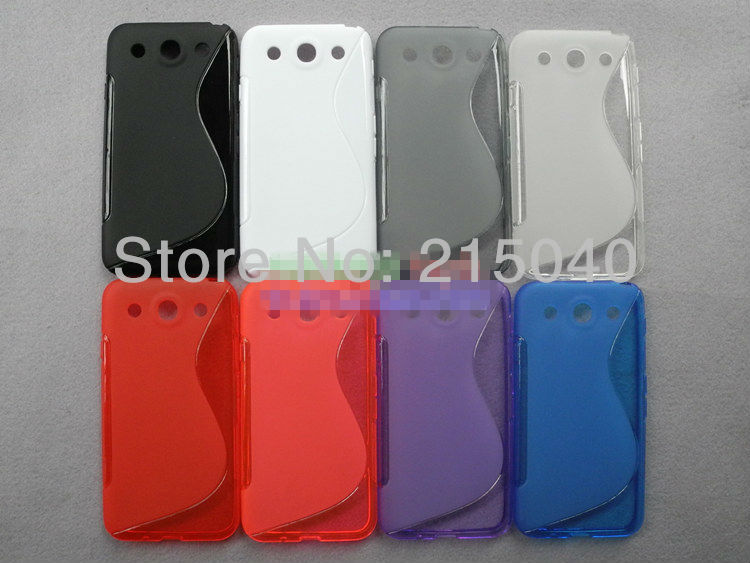 Newest S Line TPU Case for LG Optimus G Pro, S Wave Gel Soft TPU Case for LG Optimus G Pro, LGC-009 (8)
