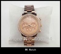 Наручные часы MK Watch with diamond Wrist Stainless Steel fashion Women's Michels kor Watch cheap Quartz Movement fashion wristwatches