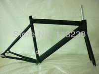 2013 Spring Promotion Fixed Gear Frame With Fork Fixie Single Speed Bike LB721 53/55cm  Free Shipping By EMS