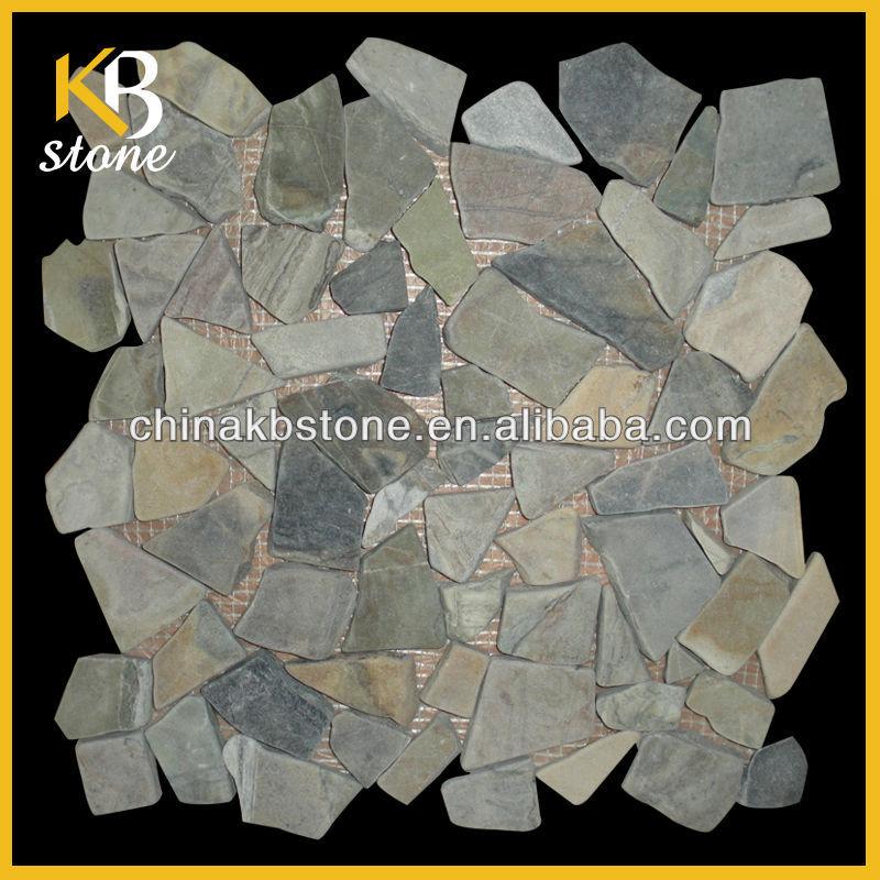 Stone Effect Kitchen Wall Tiles Wall Stone Effect Mosaic