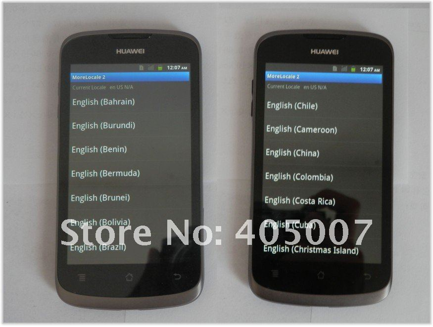 Huawei Ascend G300/U8818  //Multi lauguage+1.0G cpu+4GB ROM +4.0 inches +5.0MP //Ascend series//Always 100% orginal quality