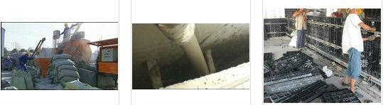 Foam concrete block machine