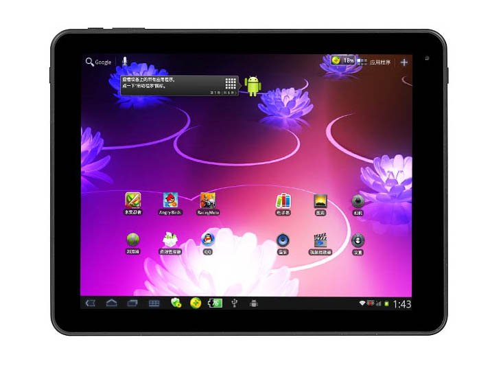 Wholesale- 1G DDR 16GB Android 4.0 9.7inch IPS Capacitive Tablet PC