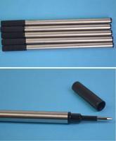 Антистеплер 5pcs New Ball Pen Black Refill Cartridges With Ink Cartridges Point 0.5mm 7312