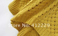 Женский пуловер pattern hollow out knitwear full sleeve women casual sweater pullovers new fashion 2013 four colors