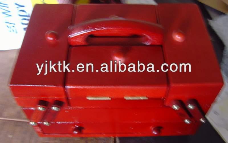 wood sewing caddy 1