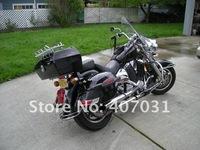 Мотоциклетная кожаная сумка для сидений RS Hard Saddle bags YAMAH A VSTAR V STAR 650 1100 1300