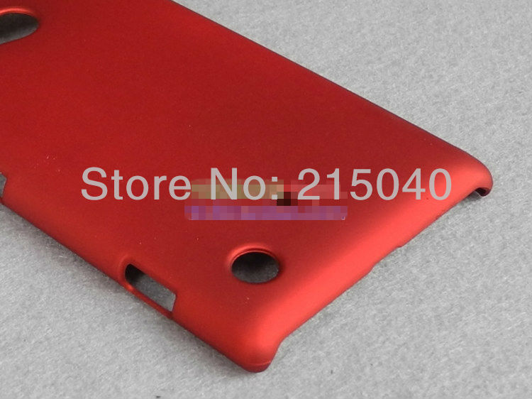 Cheap Plastic Rubber Hard Matte Case for Nokia Lumia 720 Matte Hard Case, NOK-003 (1)