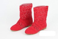 Товары на заказ fashion ladies Long Sandal low heeled Ankle shoe/Mesh Boots/1049