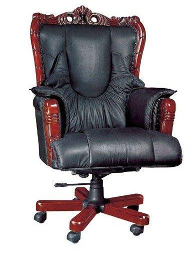 Sillas ejecutivas de lujo acolchada silla reposabrazos for Sillones para despachos