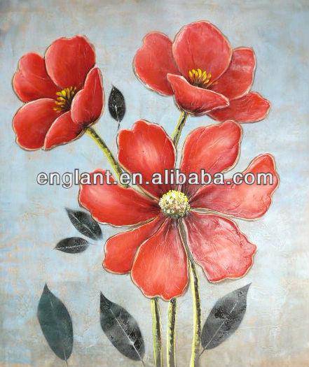 Flores para pintar cuadros para principiantes Imagui