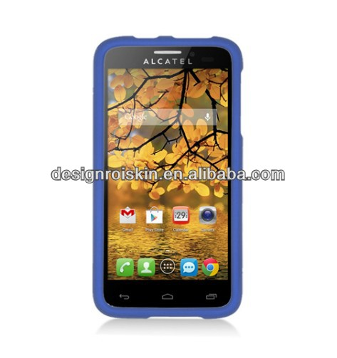 mobile phone case for Alcatel One Touch Fierce rubber hard case