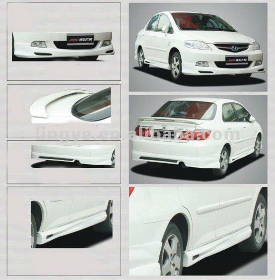 Fiberglass front bumper for Honda