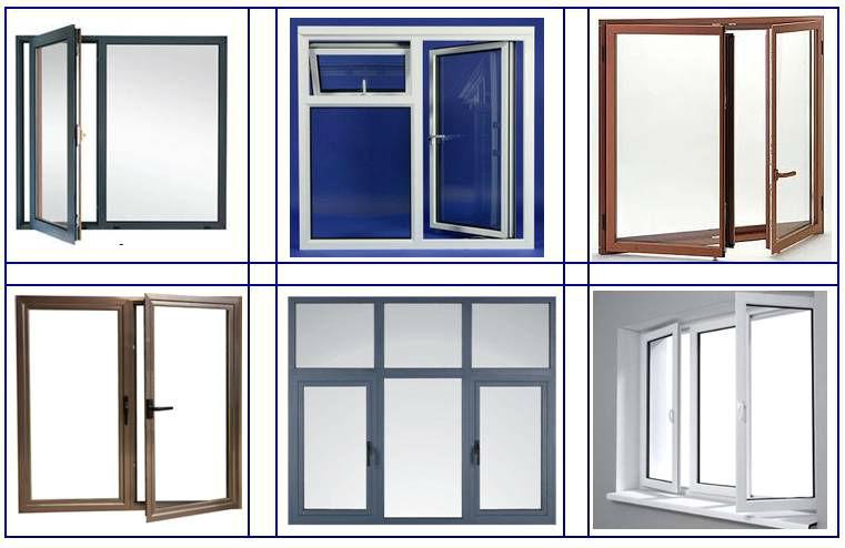 Pvc casement church windows for sale upvc window and door for New latest house door window design