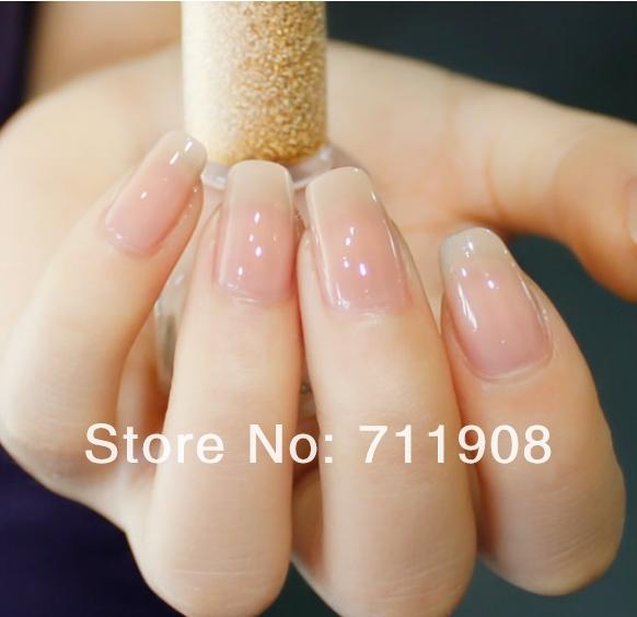 Прозрачные ногти гель лак