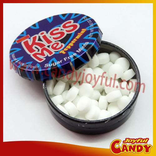 Tic Tac Tin Sugar free mint candy/portable tin mints