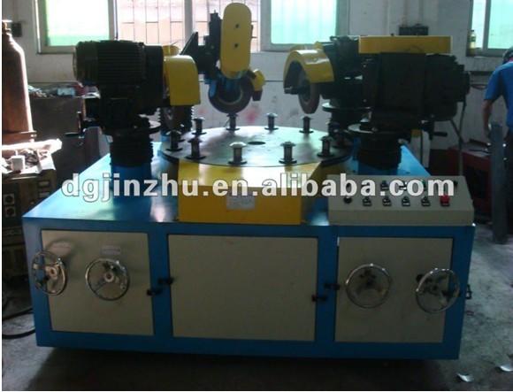Plc contr le rotary table ustensiles de cuisine en acier for Polir aluminium miroir