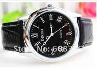 Наручные часы luxury 2012 New sport fashion leather man quartz watches waterproof high quality