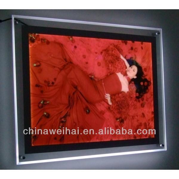 frameless frames for posters