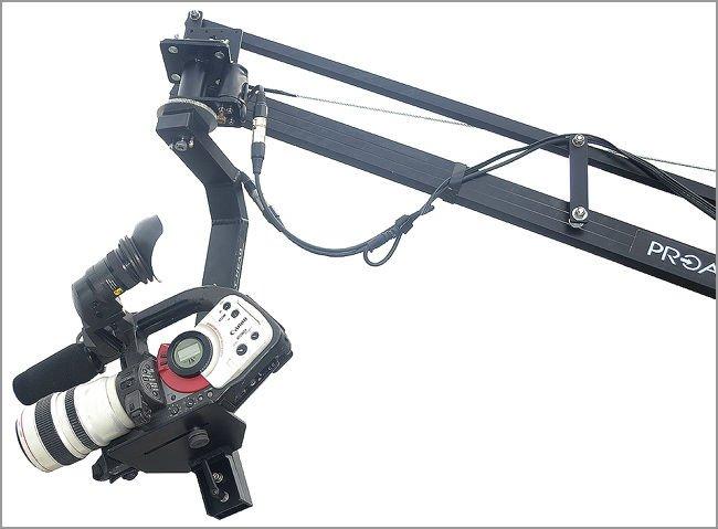 Proaim Sr. Pan Tilt Head with 12V Joystick Control (PT-SR)