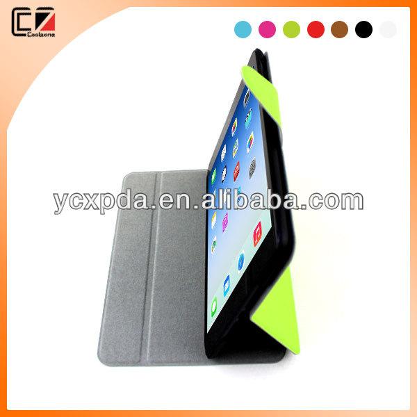 For ipad mini 2 cover,smart leather cover for ipad mini 2
