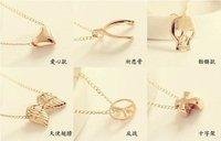 Колье-ошейник fashion simple short necklace HA2588