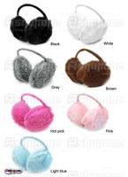 10x New Unisex Soft Fur Fluffy Plush Ear Warmer Muff Band Headband Free Shipping