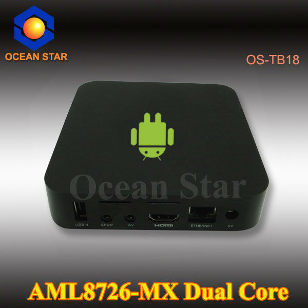 Fuctional android 4.2 dual core RK3066 1.6GHz Tv box