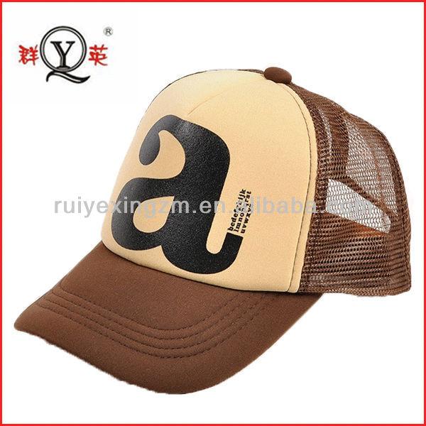 trucker mesh cap Custom OEM 5 Panel Cap