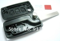 Охранная система In stock 3 Button Remote Flip Folding Key Shell Case For Citroen C2 C3 C4 C5 C6 C8 Xsara