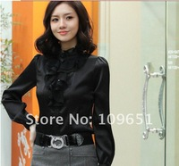 Женские блузки и Рубашки Myl SleeveBlouse , ladies'Chiffon, CS 001
