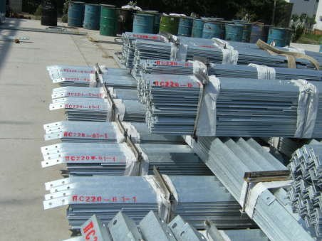 galvanized steel building material