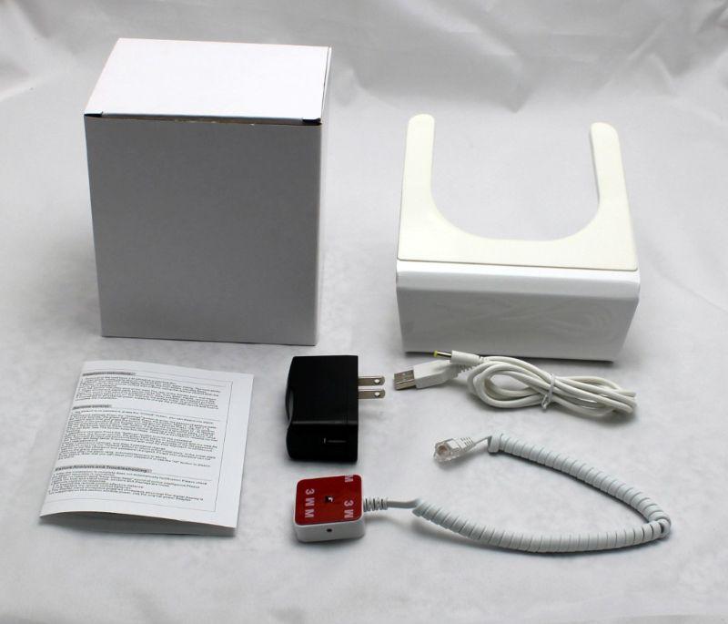 безопасности дисплей держатель для ipad с зарядкой и сигнализация
