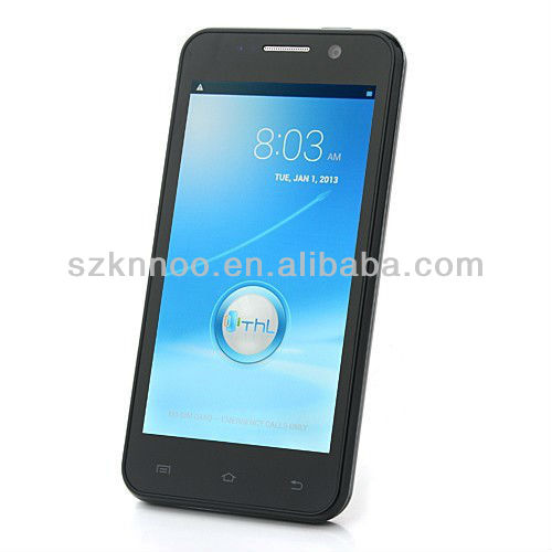 """Orignal THLW100S W100 Quad core Android phone MTK6582M 1.3GHz 4.5"""" 960*540 IPS Android 4.2 WCDMA 3G Smart phone"""