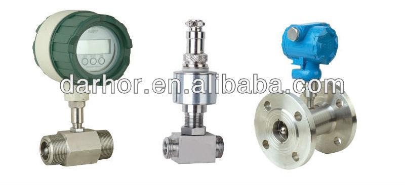 low pressure loss turbine water flow sensor