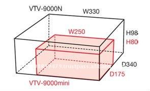 VTV-9000mini Processing Machine Vision SUPER COMPACT