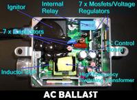 Источник света для авто HID H7 4300 K 5000 K, 6000K 8000 K 12000K 55W AC Slim 12V