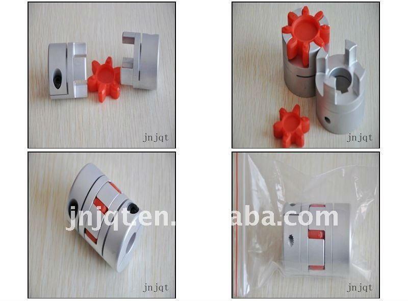 cnc motor jaw shaft coupling D50