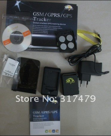 2012 New Arrival GPS Trackers BabyTrackers TK102, Mini Global Real Time 3 bands GSM/GPRS/GPS Car Tracking Device Free Shipping