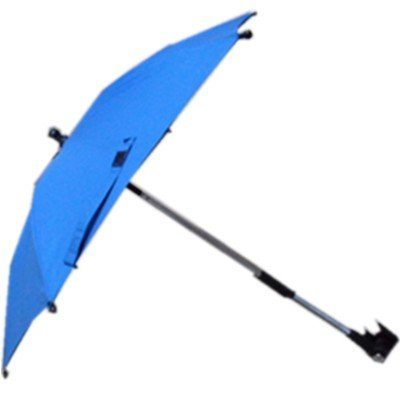 "14""*6K Stroller Clamp Umbrella for Baby Car with UV Protection"