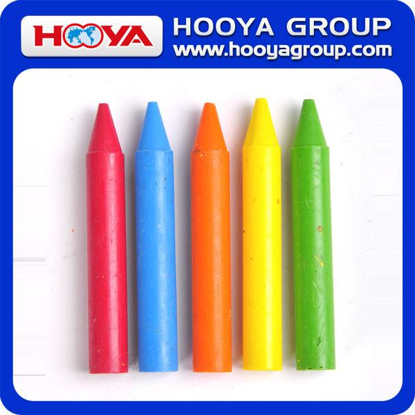 1.4*9.5cm 5 colors Custom Eco-friendly Crayon