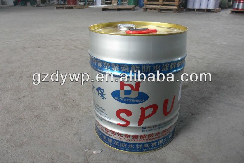 High fexible polyurethane(PU) waterproof roofing coating