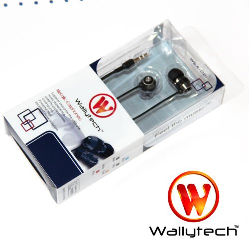 Wallytech WEA-081 metal earphone with packings