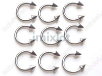 50% OFF Wholesale body jewelry 12style 120X piercing barbell stainless steel piercing Free Shipping