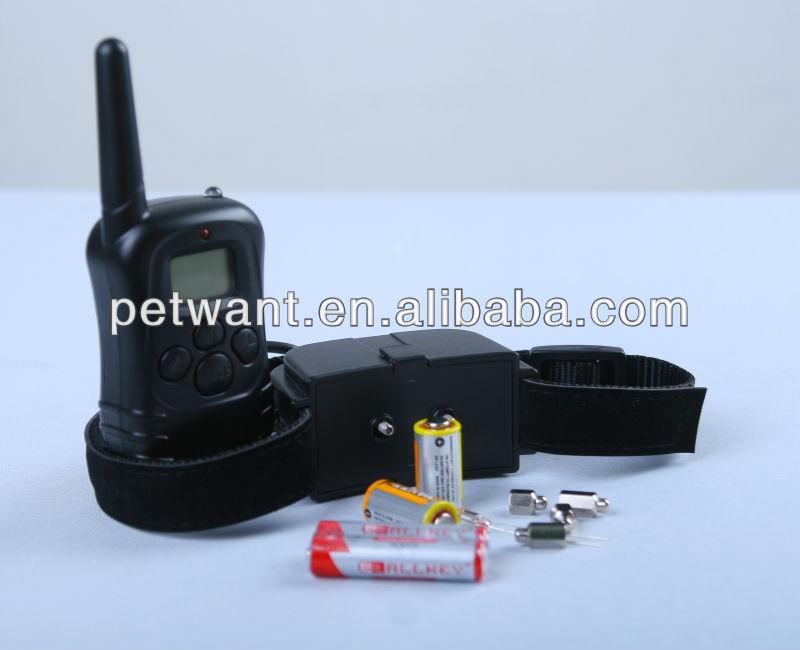 dog shock collar PET-998D electric dog collar china