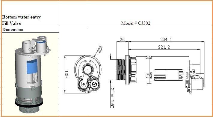 Pneumatic Flush Valve For Toilet Cistern_363916064on Adjust Toilet Tank Float
