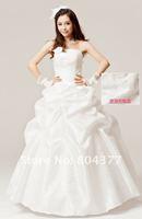 Свадебное платье Hot Sale Princess 2012 Strapless designer Bridal Wedding Dress