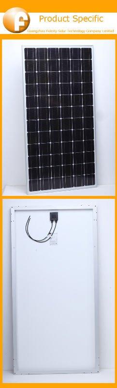 price per Watt solar panel 80W CE&ROHS