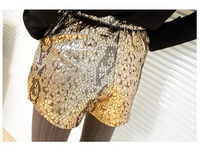 Женские шорты shoping Fashion woman serpentine leisure loose shorts. TB 3033